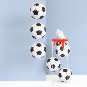 EK Voetbal zuil met ballen