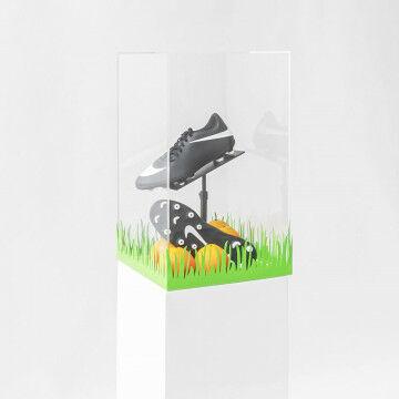 EK Voetbal schoen display