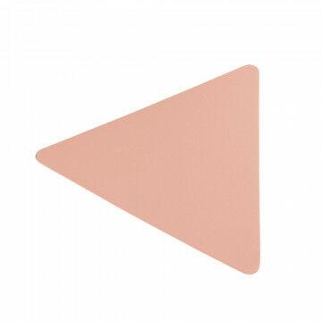 presentatie plateau triangle, 625 gram, verander je metalen vaas in een artikeldrager, roze metaal, 3 x 15 cm
