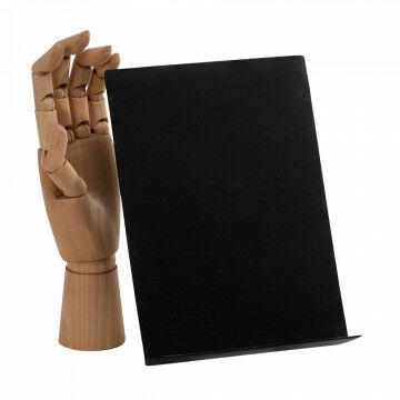 vmframe-tools display a5 staand in een hoek van 30 graden, zwart metaal, 15.5 x 22 x 7 cm
