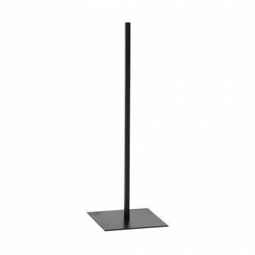 vmframe-tools vloerstandaard medium passend bij alle vmframe artikelen, zwart metaal, 25 x 25 x 80 cm