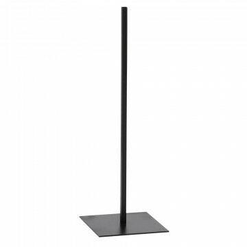 vmframe-tools vloerstandaard large passend bij alle vmframe artikelen, zwart metaal, 30 x 30 x 110 cm