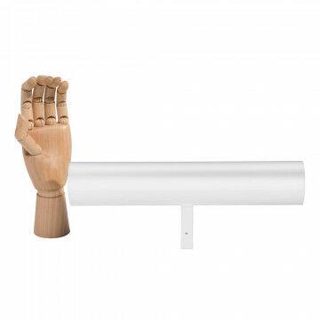 vmframe-tools display voor armbanden, wit metaal, 31.5 x 6 x 12.5 cm