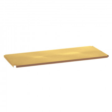 vmframe-tools brede plank om grotere artikelen op te presenteren, goud metaal, 100 x 44.5 x 2 cm