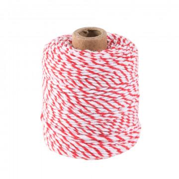 katoenen koord op traditionele spoel, textiel, 50 cm