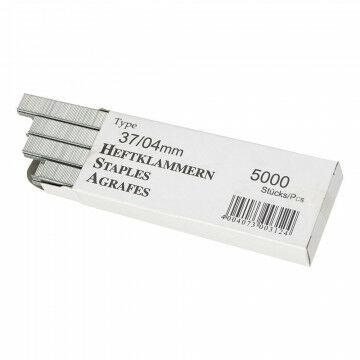 Nietjes 'Rapid' 13/4mm, voor Rapid Tackers 23/33, grijs metaal, 0.4 cm