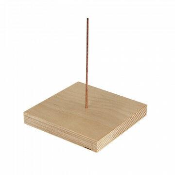 pin om kassa bonnen op te prikken handig voor op je toonbank, naturel hout