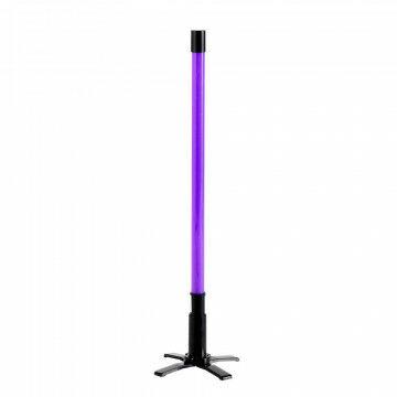 Neonstick-TL incl standaard, ophangoog en 5 mtr snoer, paars, 70 cm