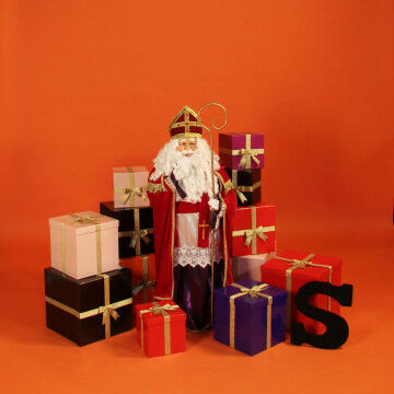 Sinterklaas cadeaustapel