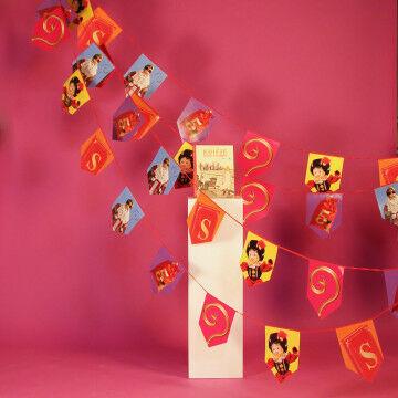 Sinterklaas presentatie vlaggenlijn