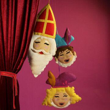 Sinterklaas presentatie vilt