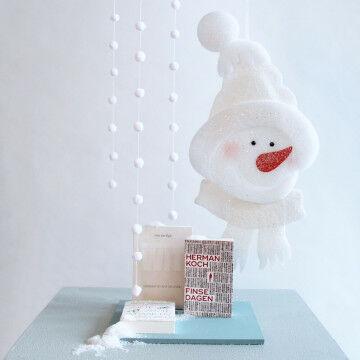 Sneeuwpop presentatie 80 cm