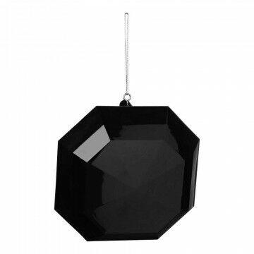 Edelstenen, zwart kunststof, 15 cm