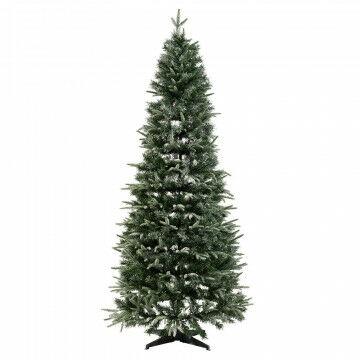 besneeuwde kerstboom instant pop-up weinig opbergruimte nodig, groen kunststof, 210 x 96 cm