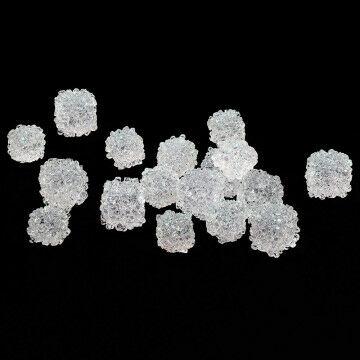 ijsblokjes om te strooien herkenbare decoratie, 28 stukjes, 1.5-2cm, transparant kunststof