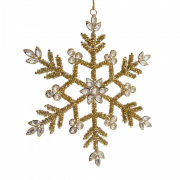 ornament sneeuwkristal bietz, small,