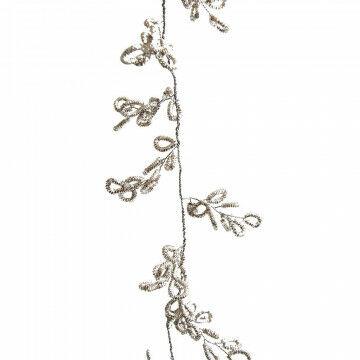 rank fenzi, geheel vormbaar, zilver metaal, 180 x 2 x 2 cm