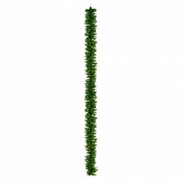 dennenrank mountain, incl. ophanglussen, zonder verlichting, groen kunststof, 500 x 35 cm