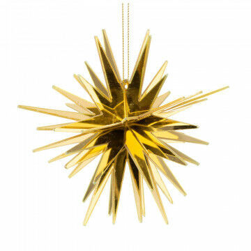 spiegelster starburst knock down, goud kunststof, 12 cm