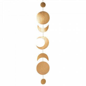 hang decoratie universe, goud metaal, 165 x 25 cm