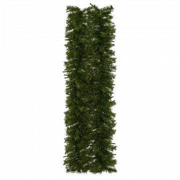 kant en klare mat van dennengroen, ontwikkeld om snel gevels en muren te bekleden, groen kunststof, 200 x 50 cm