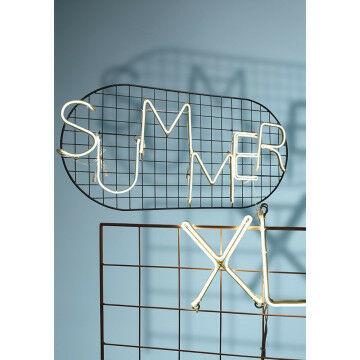 LED letters op frame