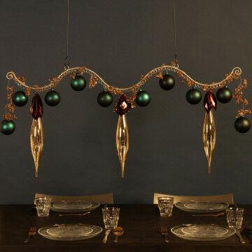 Hangende kerst ornamenten