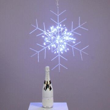 Winter presentatie ijskristal