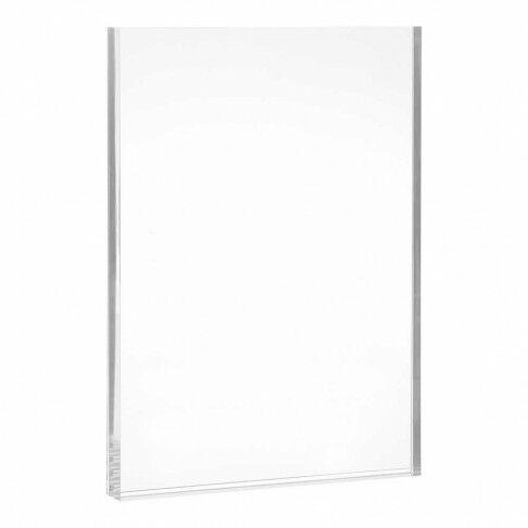 kaarthouder slip-in, transparant acrylaat, A4, 21.3 x 29.7 cm
