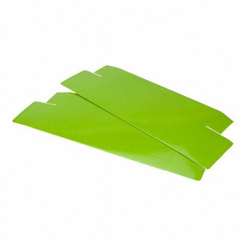 bloemendoos, groen karton, 55 x 14.5 x 9.5 cm