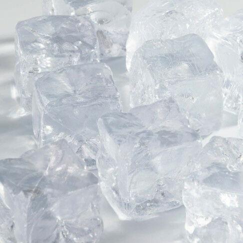 ijsblokjes +/- 0,7 liter, transparant kunststof, 3 x 3 cm