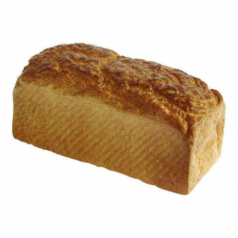 bruin brood heel brood, bruin kunststof, 21 x 10 cm