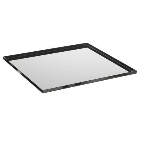 Bodemplaat 'Image' verchroomd, geschikt voor 500-845, metaal, 35.5 x 35.5 x 1 cm