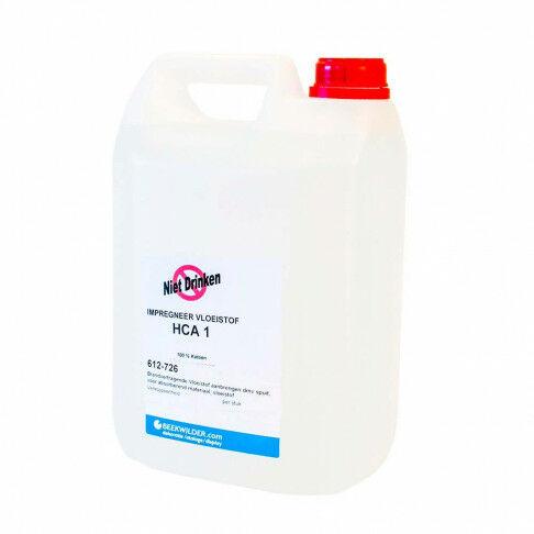 Brandvertragende Vloeistof 5 liter HCA 1 gebruiken dmv spuit, vr/absorberend stoffen., vloeistof