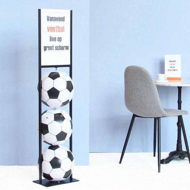 EK Voetbal kaartstandaard decoratie