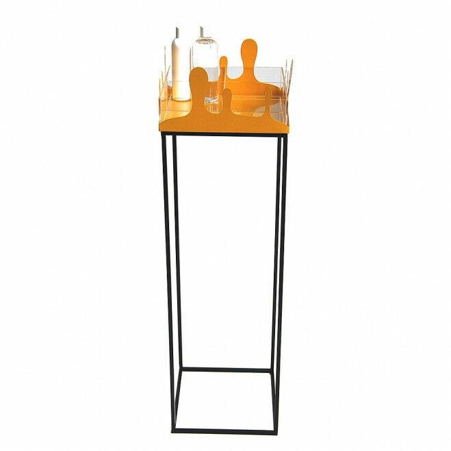 Desinfecteer zuil, 98 x 30 cm, inclusief acrylaat verdeelbox