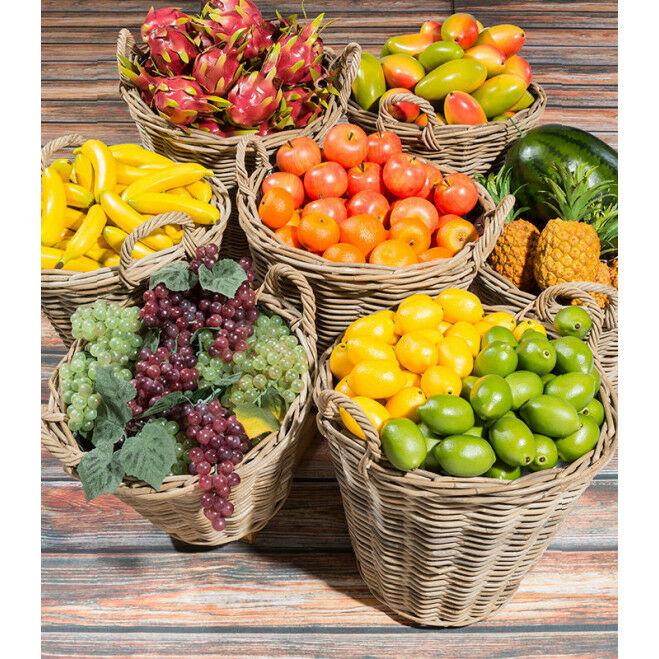 Manden vol fruit