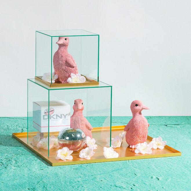 Kleine roze eyecatchers