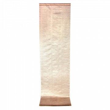 banier amazing copper, glanzende finish, semi transparant, koper textiel, 70 x 250 cm
