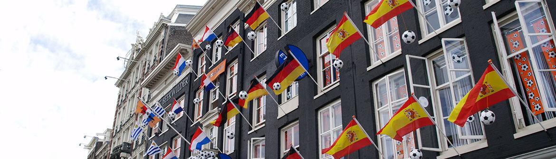 Vlaggen Europa