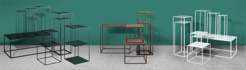 Display zuilen en tafels