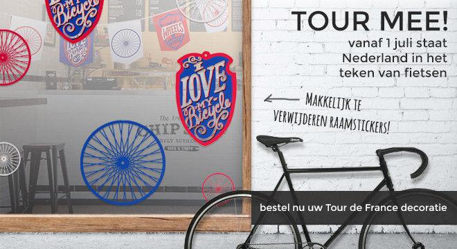 Tour de France decoratie
