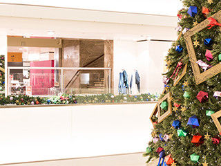 105.000 ornamenten speciaal ontworpen voor de Bijenkorf